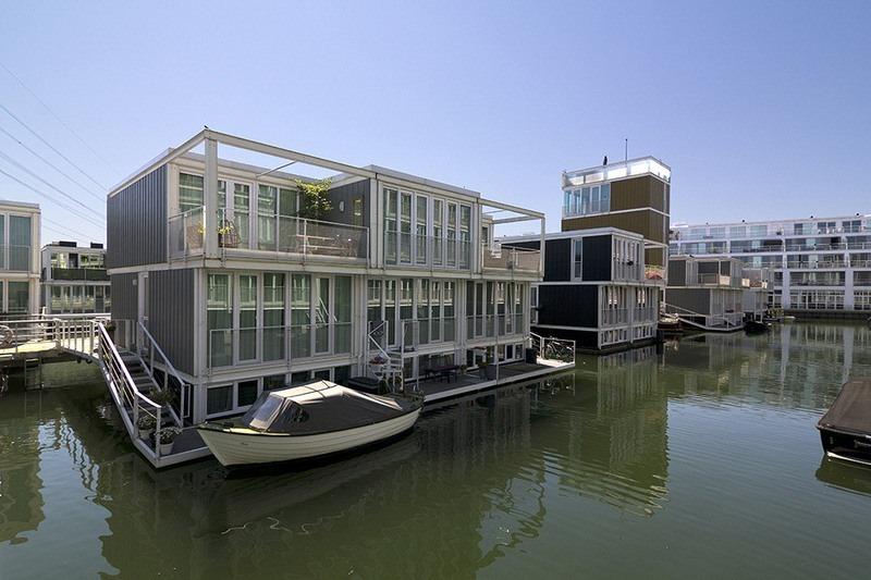 ijburg maisons flottantes
