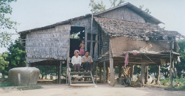 les maisons au cambodge