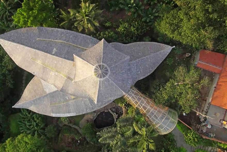 maison bambou bali 12