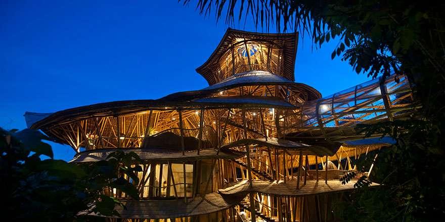 maison bambou bali 9