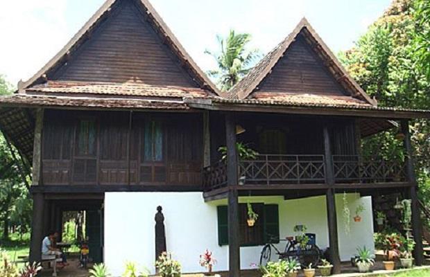 maison typique laos