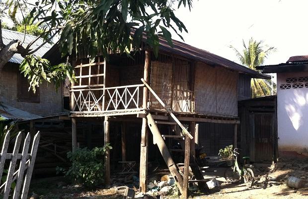 maisons typiques laos