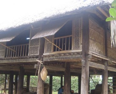 maison traditionnelle laos