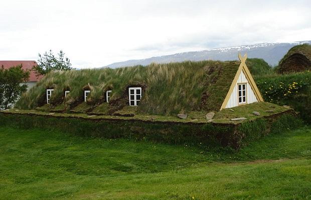 maison de gazon