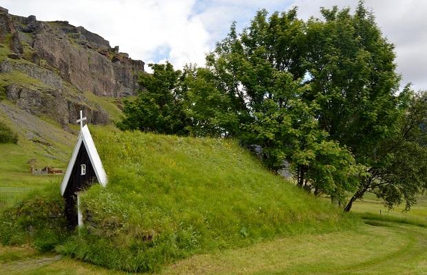 maisons traditionnelles islandaises