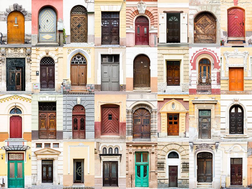 portes roumanie