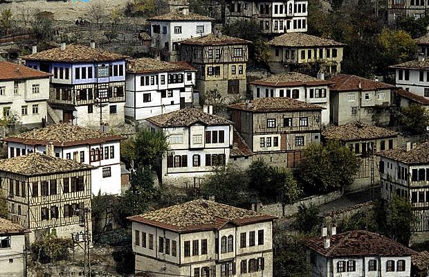 maisons typiques en Turquie