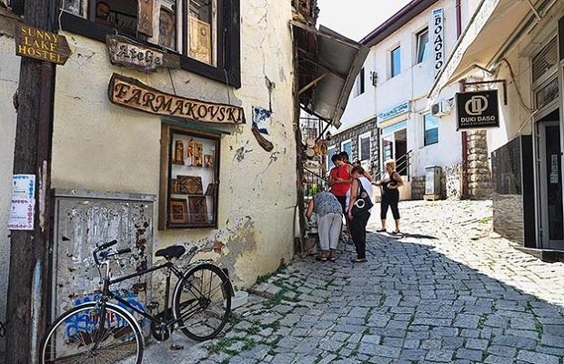 Macedonia-Ohrid-rue