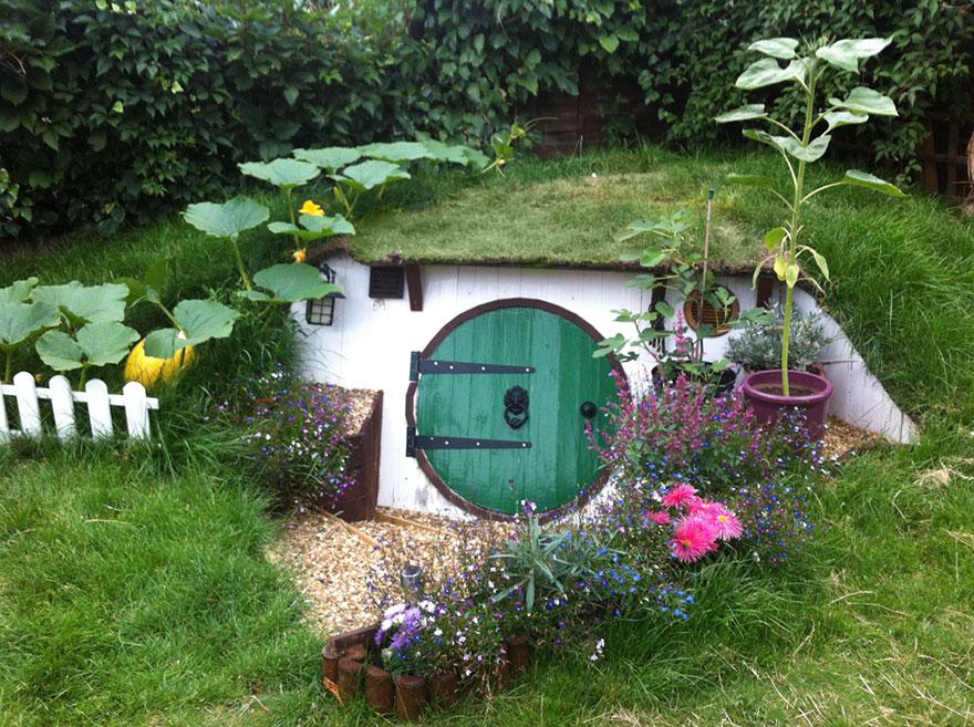 comment construire une maison de hobbit