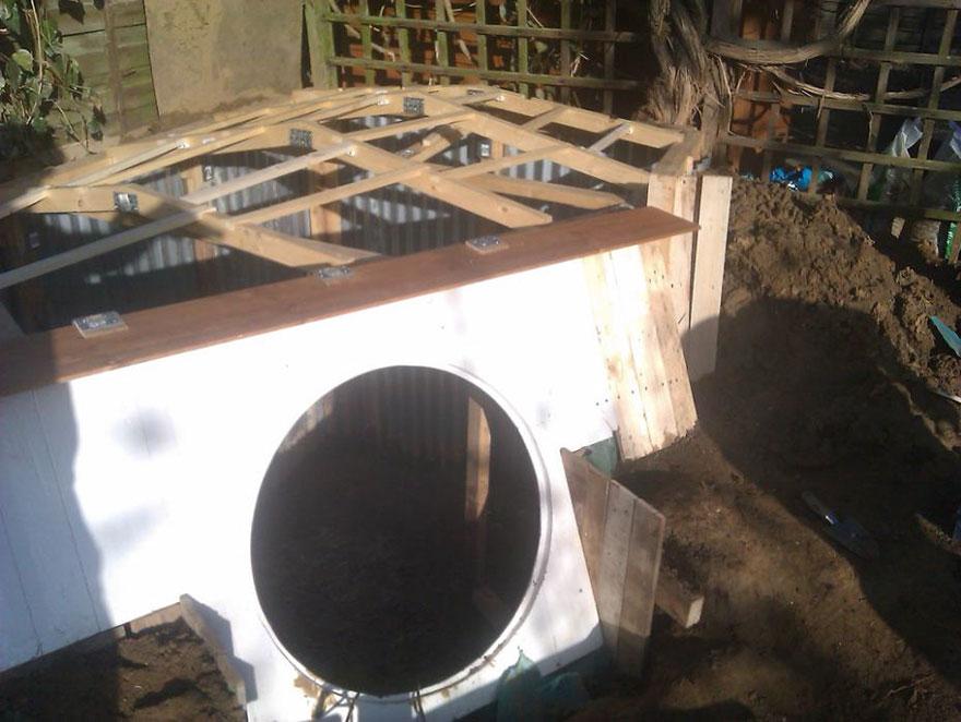 construire maison hobbit 3
