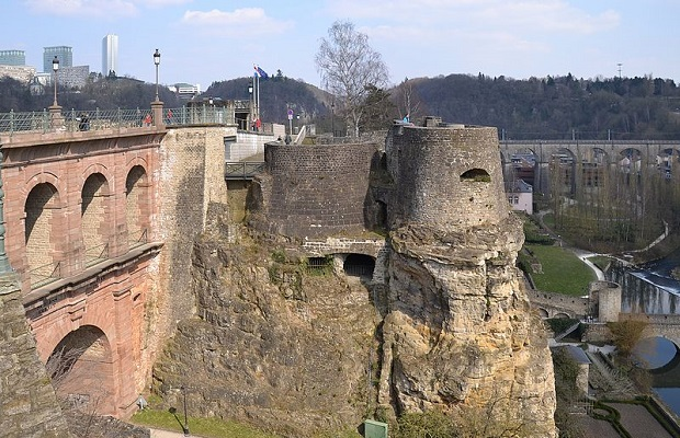 fortification du bock luxembourg