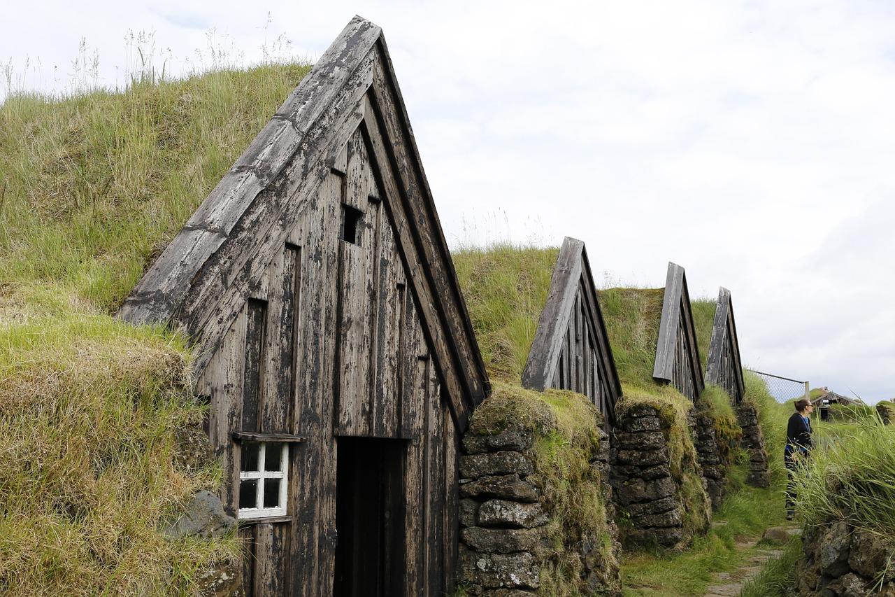 maison traditionnelle islande