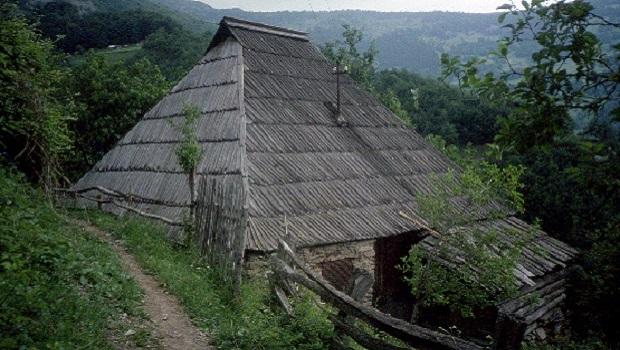 Les maisons au Monténégro