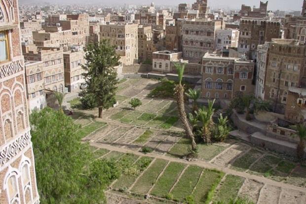 les maisons au yemen