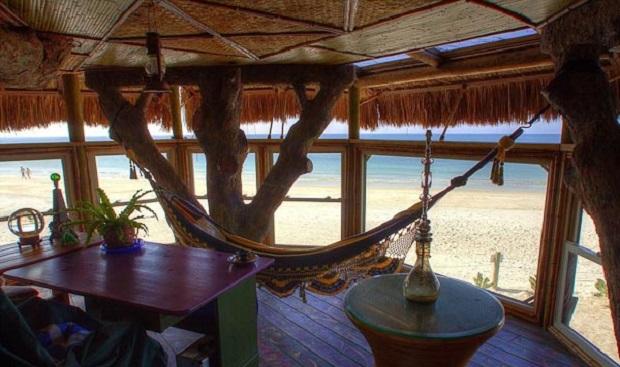 cabane bord de mer floride 2