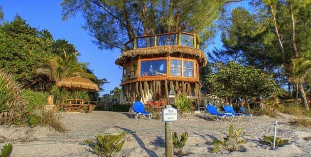 Une cabane de r ve en bord de mer - Maison bois bord de mer ...