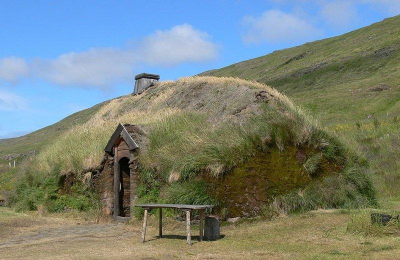 maison gazon viking