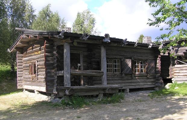 Les maisons typiques de finlande for Maison en bois finlandaise