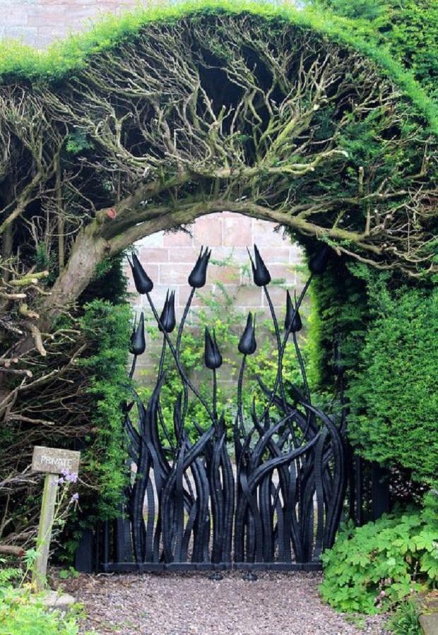 portail jardin 13