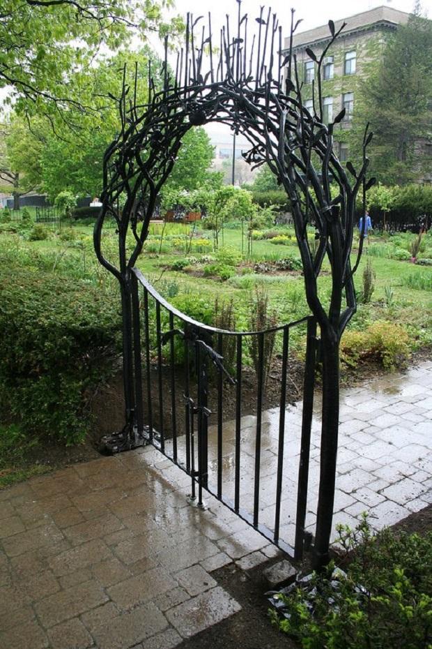 Portail jardin 3