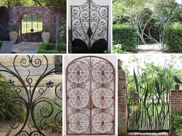 portail jardin 30