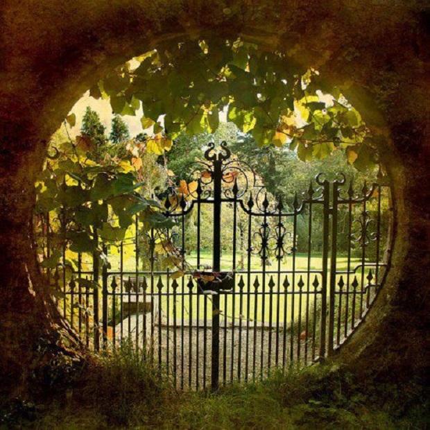 Portail jardin 5