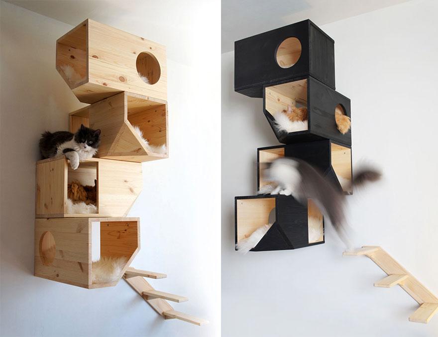 25 superbes id es de meubles design pour les amoureux des for De l arbre au meuble