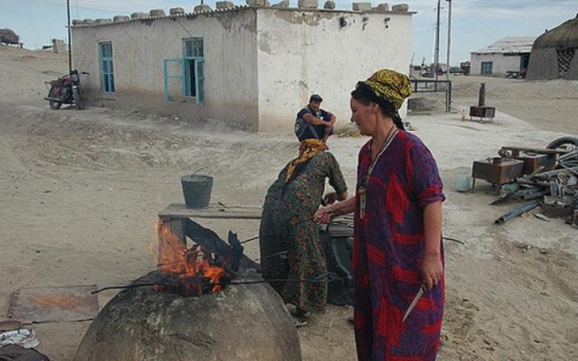cuisine exterieure turkmenistan