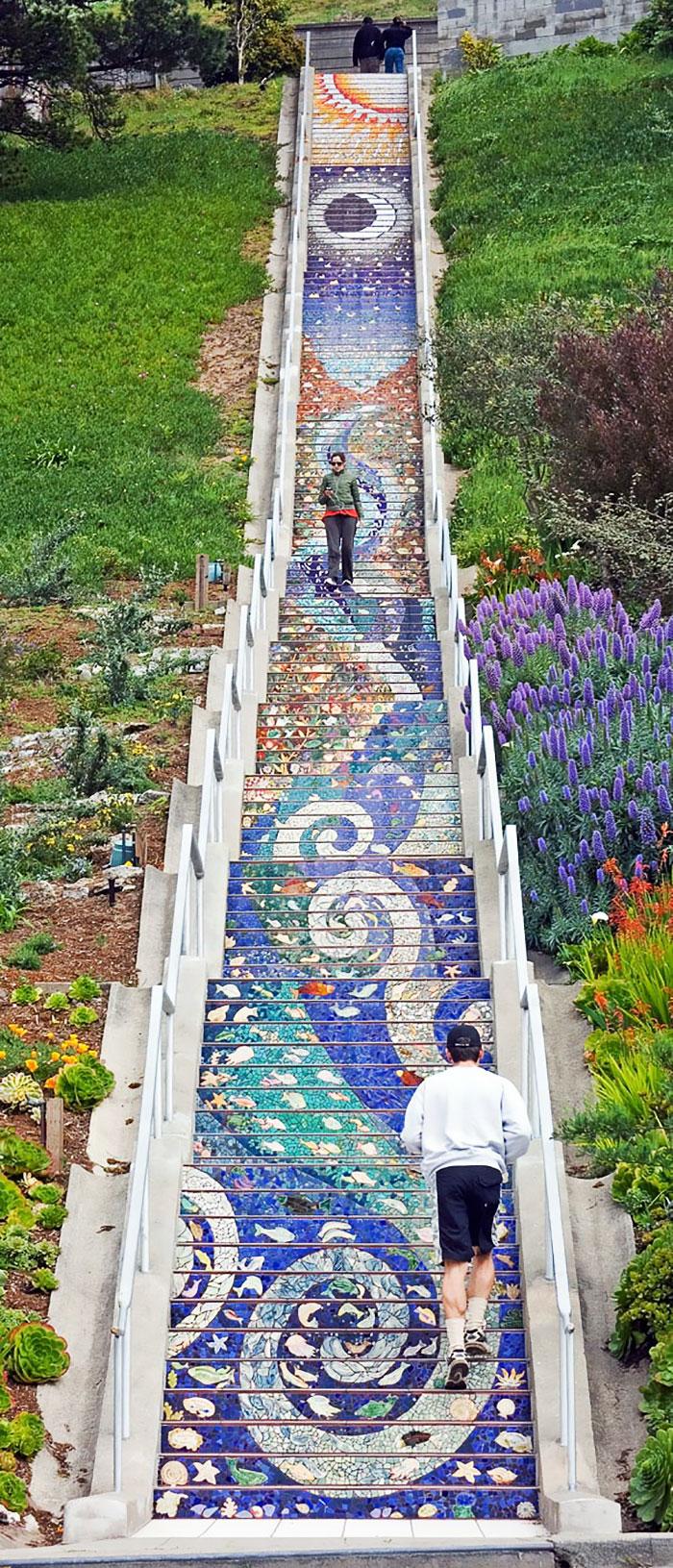 escalier incroyable 1