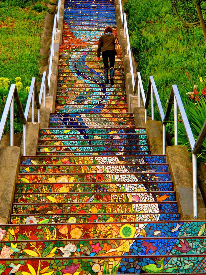 escalier incroyable 3