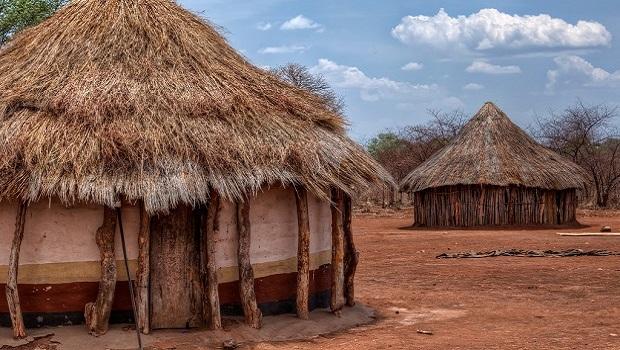 Les maisons traditionnelles en Zambie