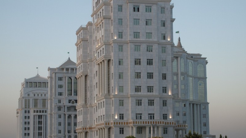 immeuble turkmenistan