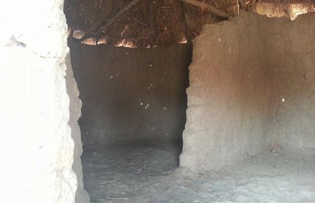 intérieur hutte zambie