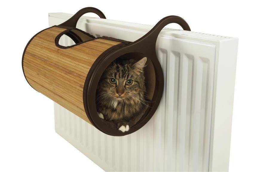 sac radiateur chat