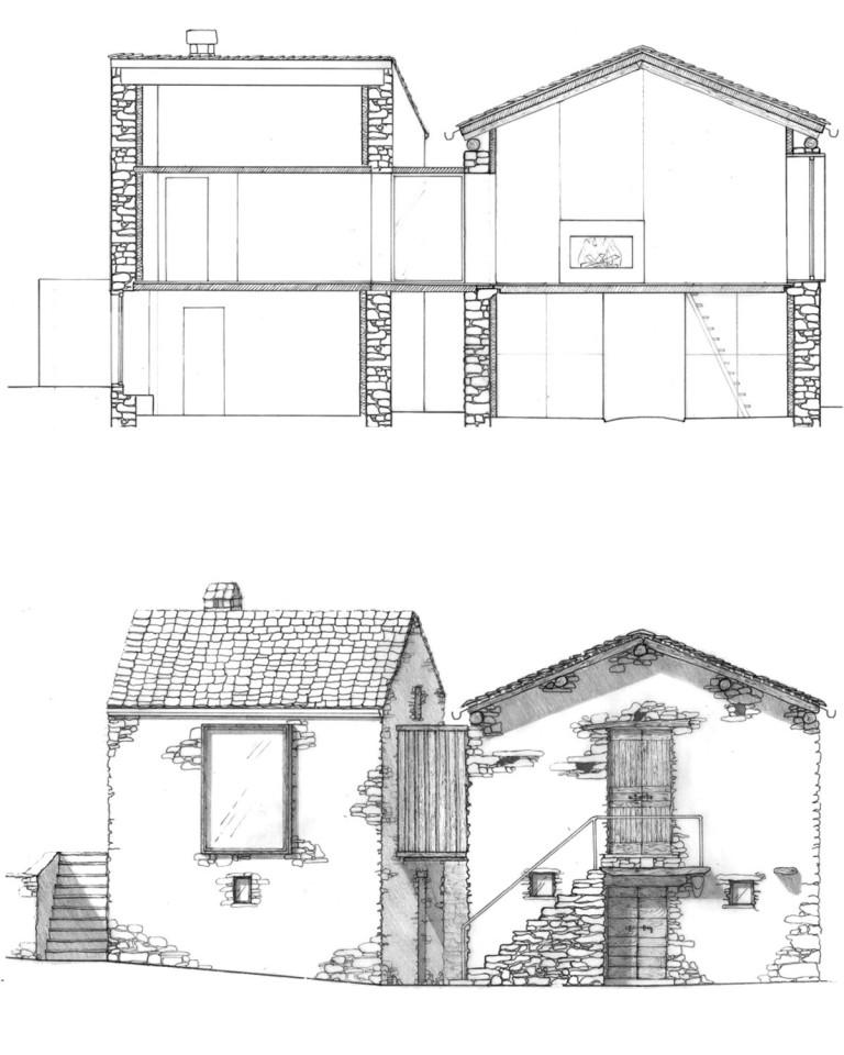 Maison de montagne en pierre rénovée (20)