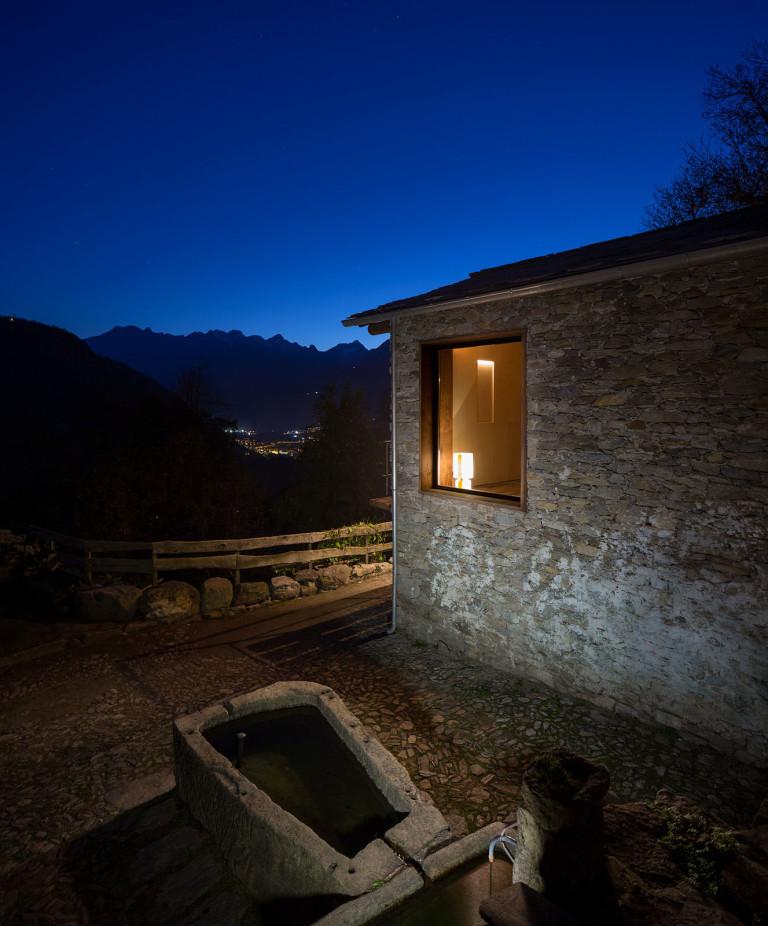 Maison de montagne en pierre rénovée (5)