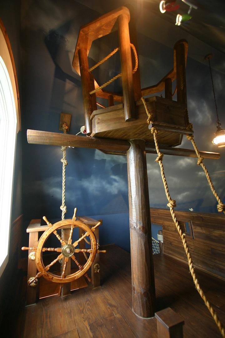 chambre de pirate incroyable (6)