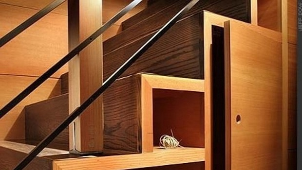Idées de stockage sous les escaliers pour maximiser les espaces fonctionnels