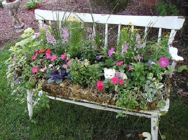ides jardin vintage