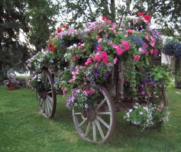 idées jardin vintage (3)