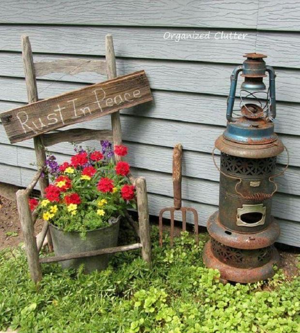 Junk Garden Ideas 2018 Edition: 20 Idées Vintage Pour La Décoration Du Jardin