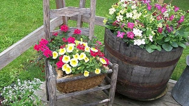 20 idées vintage pour la décoration du jardin