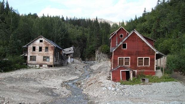 Un village de mineurs abandonné en Alaska