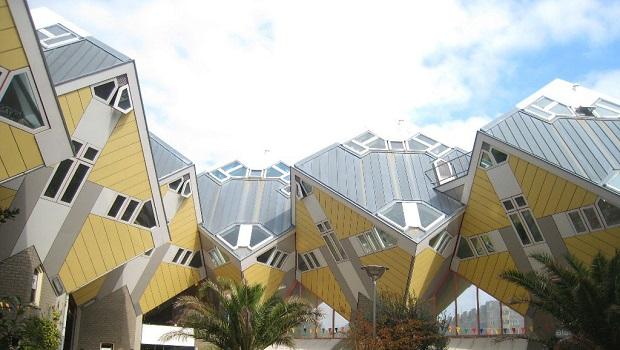 Les maisons cube de Rotterdam