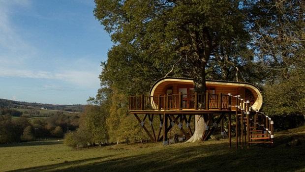 Une petite maison durable et étonnante