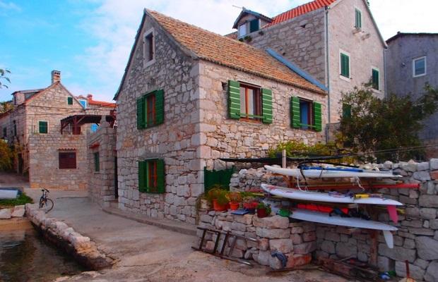 maisons en croatie