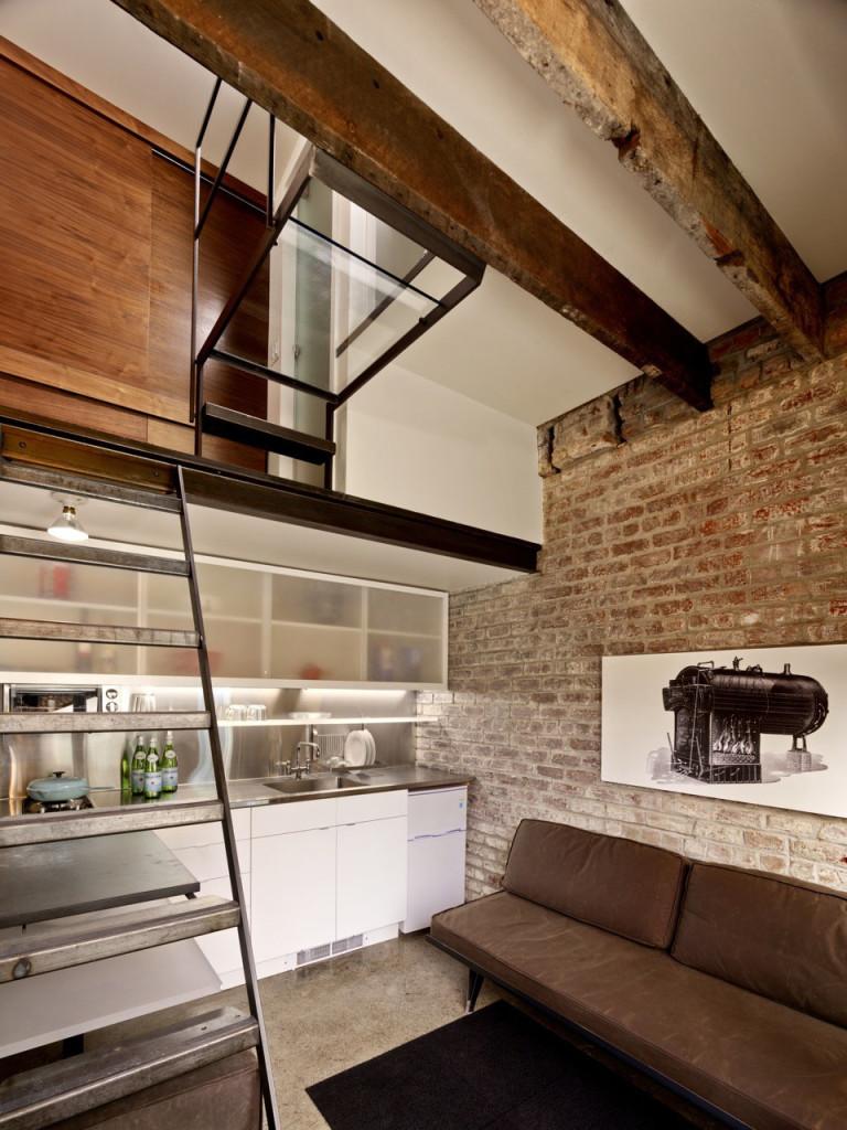 micro appartement dans petite maison brique (1)