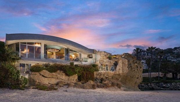 La fantasque Rock House à Laguna Beach