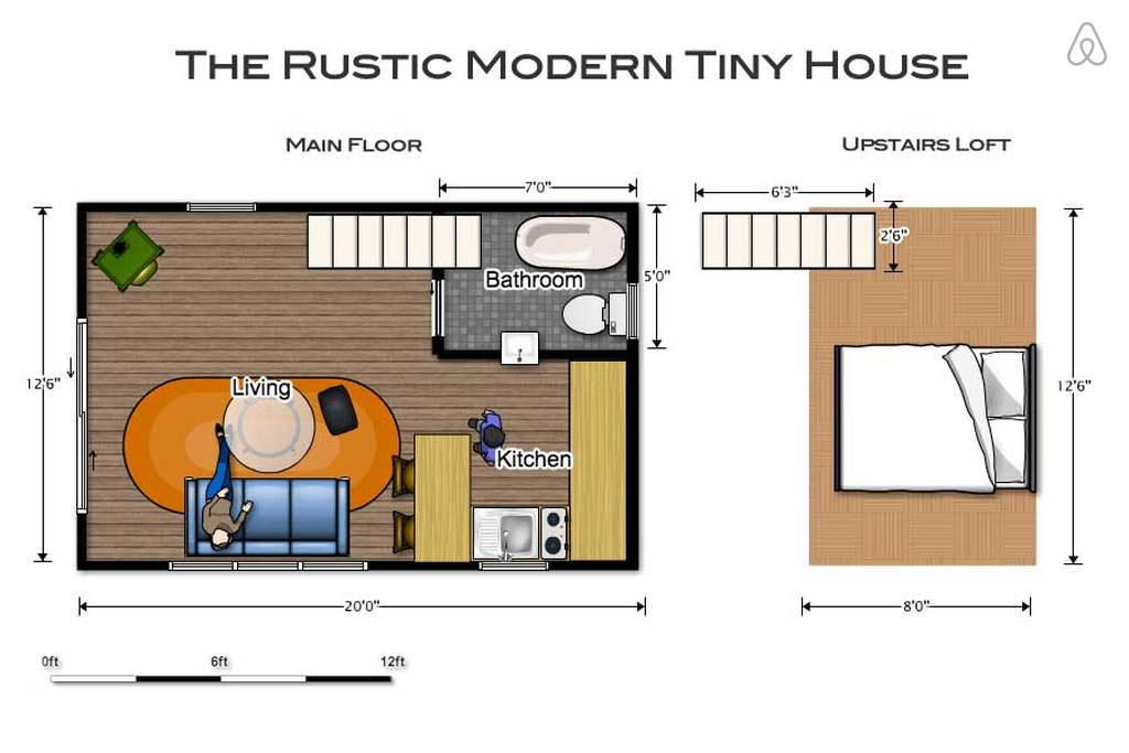 tiny house rustique et vintage (17)