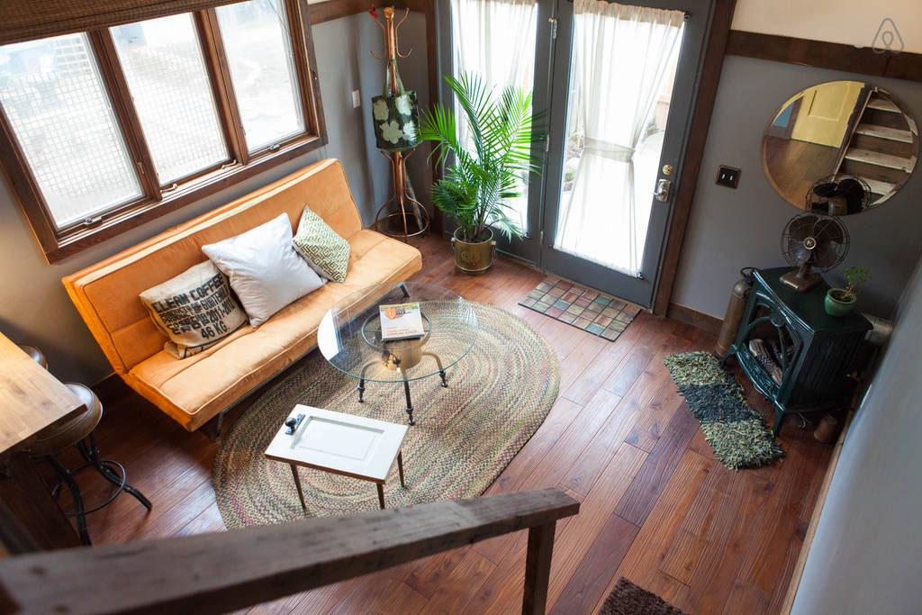 tiny house rustique et vintage (8)